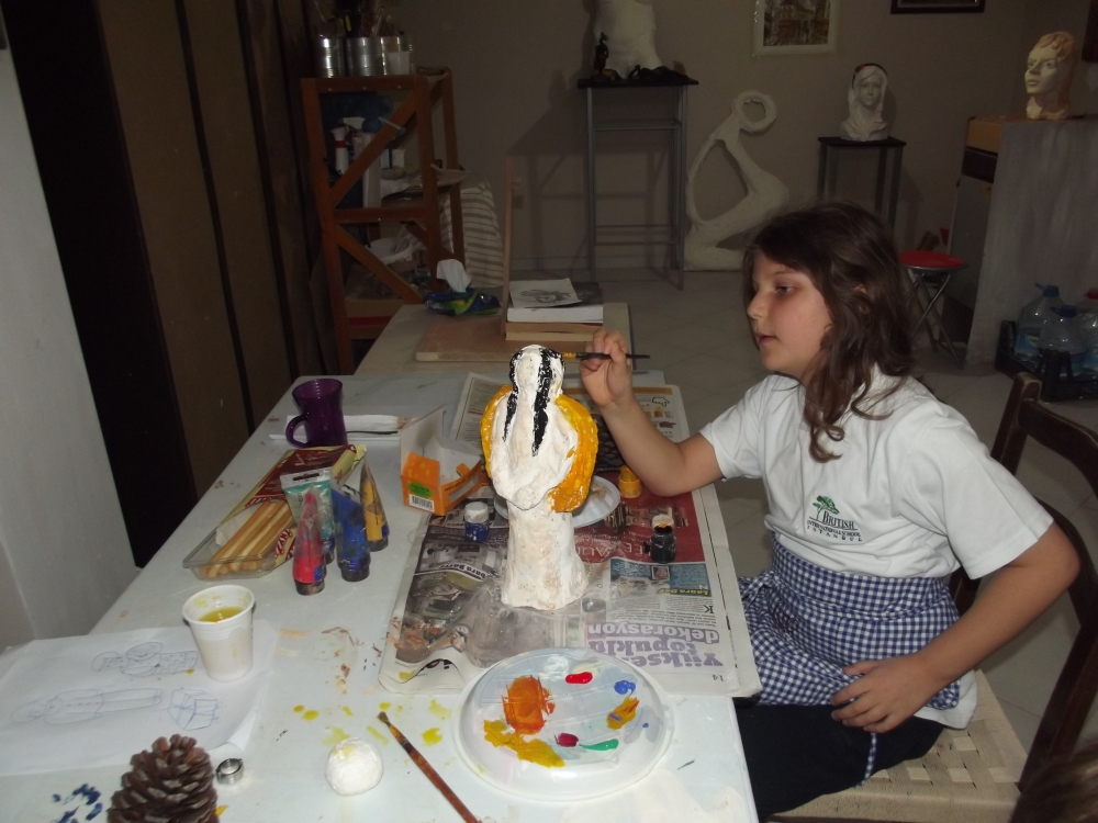 Berna Duman Sculpture Work Shop (6/6)