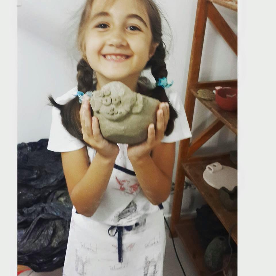 Çocuklar için Sanat / Art for kids ve Atolye Calismaları (2/3)