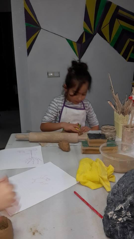 Çocuklar için Sanat / Art for kids ve Atolye Calismaları (1/3)